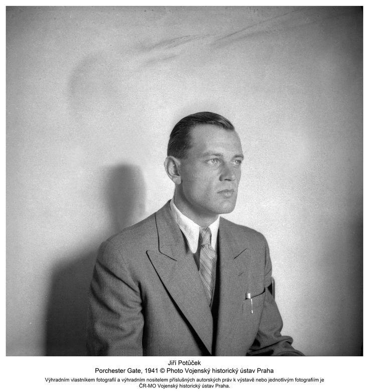 Jiří Potůček, Porchester Gate, 1941