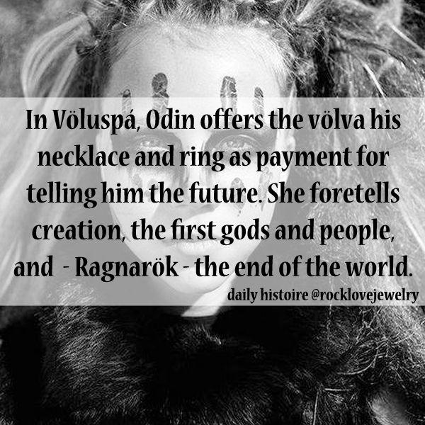 Odin seeks knowledge from a Volva... #ragnarok #vikings