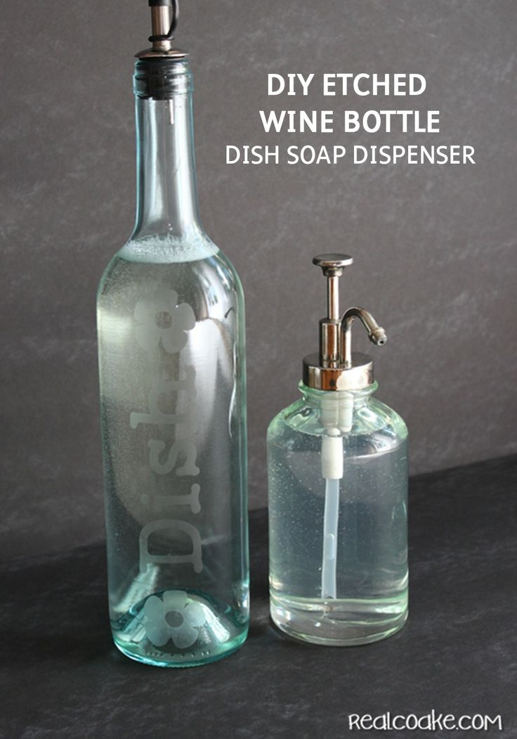 Dishwashing Liquid Bottle Crafts