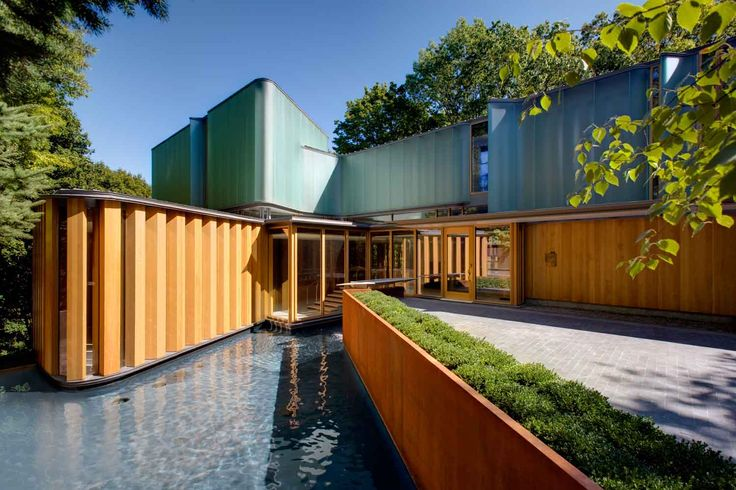 Integral House by Shim-Sutcliffe Architects // Toronto, Canada | Yellowtrace