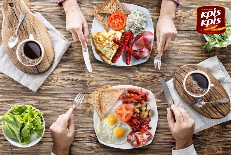 Το σωστό πρωινό θέλει Κρις Κρις και καλή παρέα! ;)