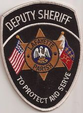 Lafayette Deputy Sheriff  Patch Louisiana
