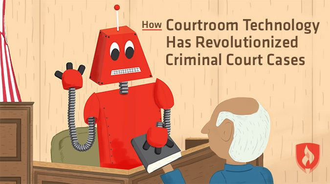 See how courtroom technology has revolutionized criminal court cases.
