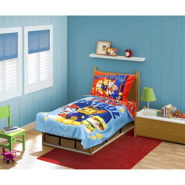 BabyBoom Nick Jr PAW Patrol Here To Help 4 Piece Toddler Bedding Set  #PawPatrol