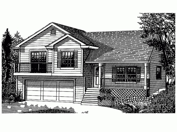 split level porch ideas 9 best woodrush ii images on pinterest appaloosa garage and nest