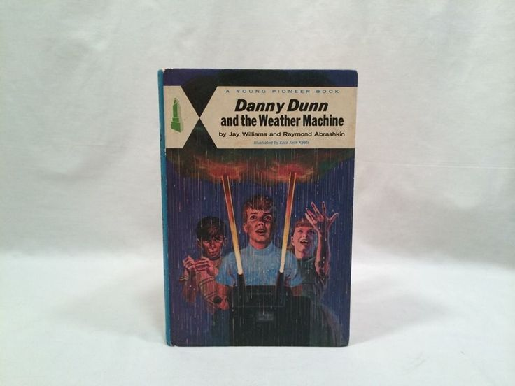Danny Dunn and the Weather Machine Book 1959 Young Pioneer Edition Hardcover