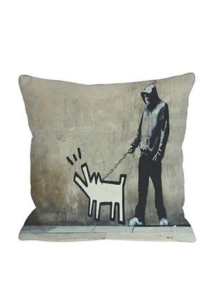 64% OFF Banksy Choose Your Weapon Pillow