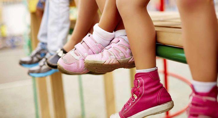 Eight crucial steps when choosing kids shoes.