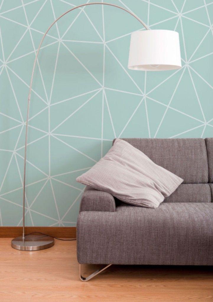 25 beste idee n over woonkamer behang op pinterest for Behang kamer