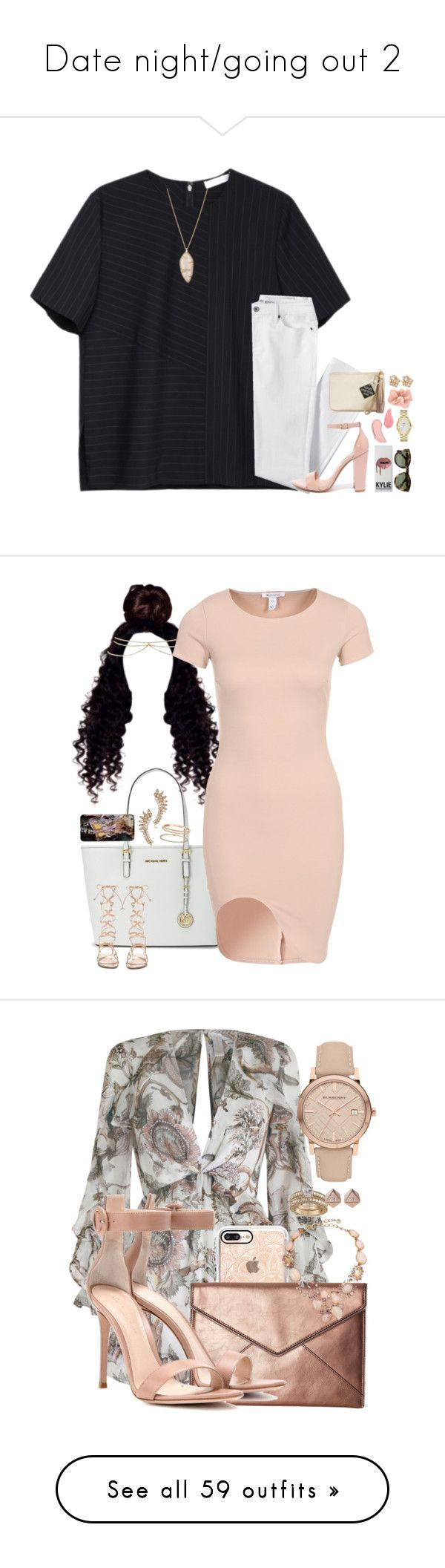 """""""Date night/going out 2"""" by jada-aphrodite ❤ liked on Polyvore featuring Alexander Wang, Lands' End, Steve Madden, Chico's, Alexis Bittar, NYX, Kylie Cosmetics, Kate Spade, Accessorize and Louis Vuitton"""