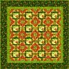 This exquisite quilt pattern uses the popular fabric collection Belvedere by Donna Dewberry. Seven fabrics complement one another in this quilt pattern.: Quilts Patterns, Quilt Patterns