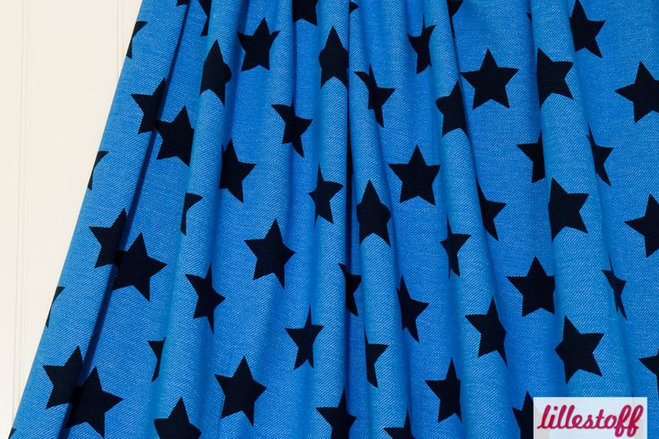 lillestoff » Jeans Stars, kobaltblau « // hier erhältlich: http://www.lillestoff.com/jeansstars-kobaltblau-3336.html