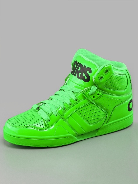 Osiris NYC 83 Lime Black Lte
