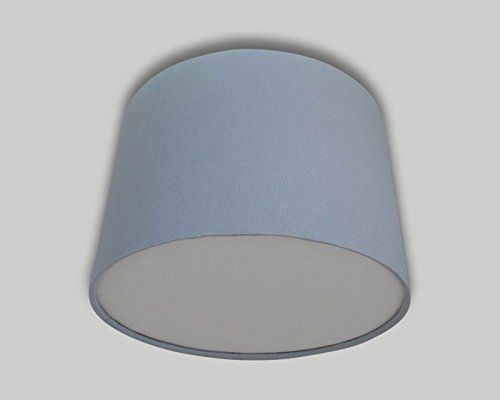 Light Grey Drum Ceiling Lampshade With White Diffuser 20cm 25cm 30cm 35cm 40cm 50cm 60cm 70cm Lamp Shade Lightshade: Amazon.co.uk: Handmade