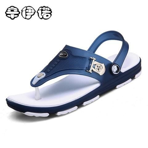 c234f902c29 Cheap Sale Men Slippers 2018 New Summer Cool Beach Sandals Comfortable  Fashion Slippers Men Flip Flops Men Shoes 44 45 From Touchy Style Outfit  Accessories ...