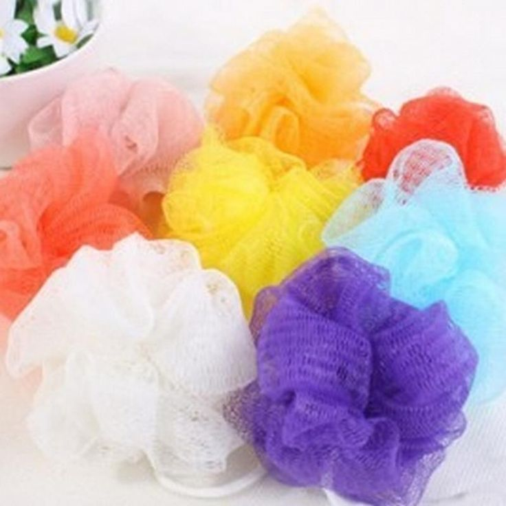 Soft Shower Exfoliate Puff Mesh Net Ball Random Color Body Bath Brush Bath Sponge Body Wash #>=#>=#>=#>=#> Click on the pin to check out discount price, color, size, shipping, etc. Save and like it!