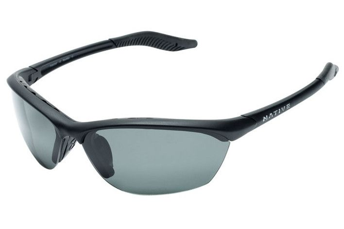 Native Hardtop Asphalt Sunglasses, Gray Lenses
