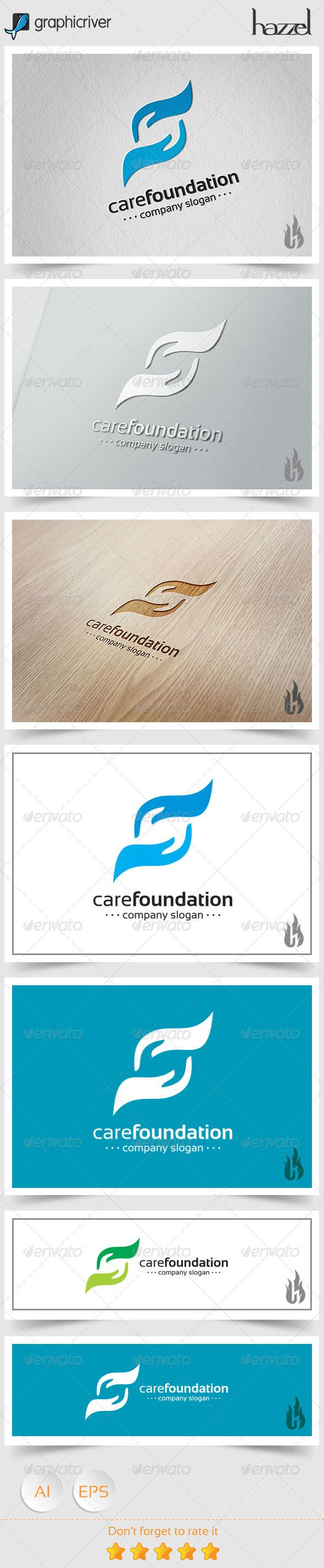 Care Foundation Logo  #hands #help #hope • Available here → http://graphicriver.net/item/care-foundation-logo/8494369?s_rank=239&ref=pxcr