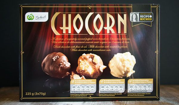 WEEK 6 - Road Test: Chocorn, Recipe to Riches