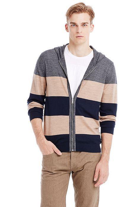 Merino Hoodie Sweater - Mens Sale - Armani Exchange