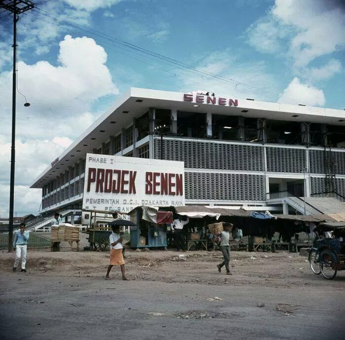 Djakarta Tempoe Doeloe in color - Proyek Senen