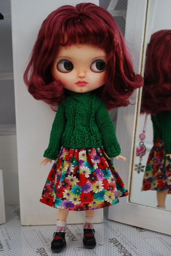 Ensemble for Blythe dolls by habilisdolls on Etsy