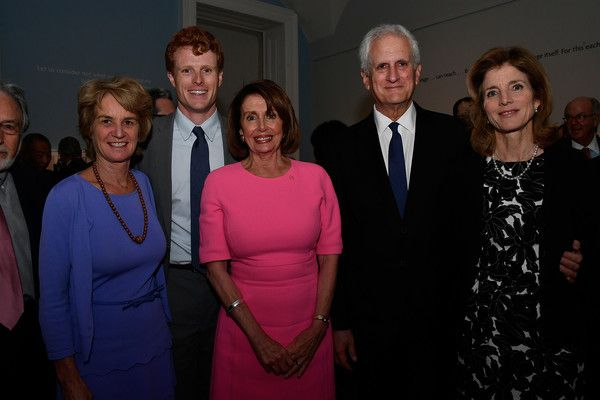 Caroline Kennedy Photos Photos - (L-R) Kathleen Kennedy Townsend, rep Joe Kennedy III (D-MA), leader Nancy Pelosi (D-CA), Edwin Schlossberg and Ambassador Caroline Kennedy appear at American Visionary: John F. KennedyÕs Life and Times debut gala at Smithsonian American Art Museum on May 2, 2017 in Washington, DC. - American Visionary: John F. Kennedy's Life and Times at the Smithsonian American Art Museum