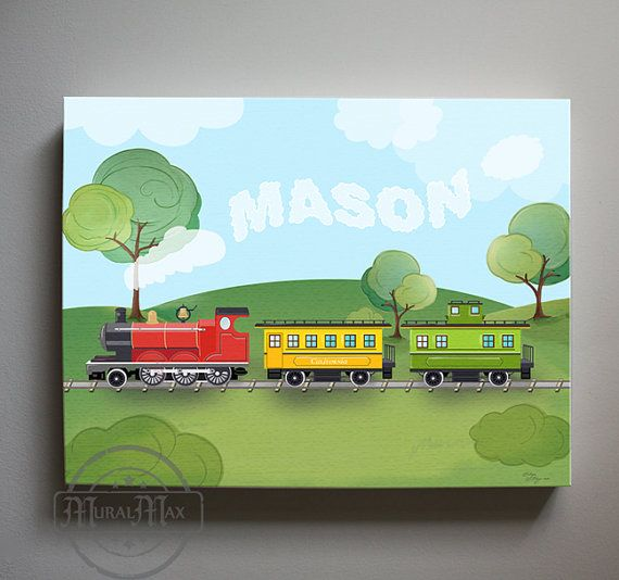 Train Wall Art 8 best train art images on pinterest | train art, steam locomotive