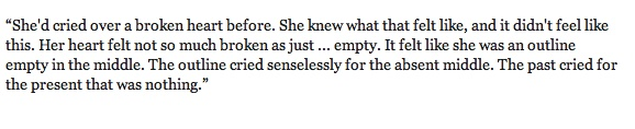 Ann Brashares Quote on Heartbreak from Sisterhood Everlasting