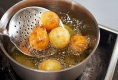 «Творожные пончики в сахарной пудре» рецепт c видео – выпечка и десерты