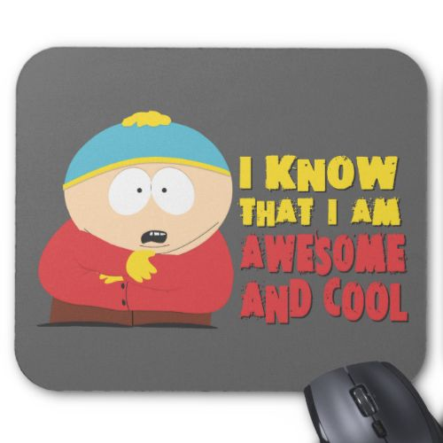 i know that i am awesome and cool mouse pad mousepad. Black Bedroom Furniture Sets. Home Design Ideas