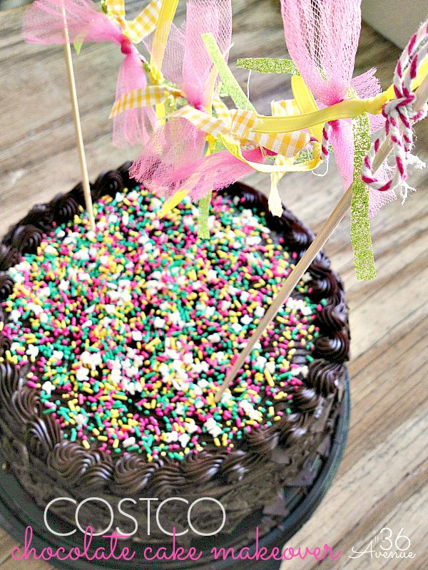 Grocery store cake recipe