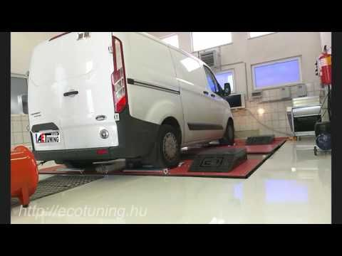 Ford Transit Custom 2.2TDCI 100LE AET CHIPtuning Referencia Videó Teljes...