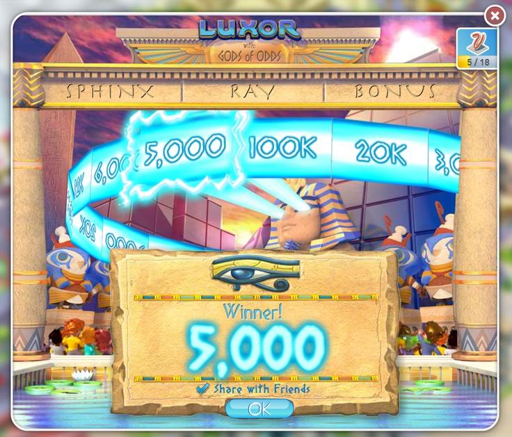 Sphinx Ray Bonus Game. Click here to play myVEGAS now ----> http://myveg.as/mV-Pinterest <----