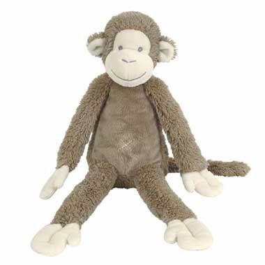 Happy Horse Mickey de aap pluche 32 cm  Kruip in bed of in de bank met jouw lieve Mickey de aap knuffel. Mickey is 32 cm hoog en hij is dol op knuffelen met jou. De aap heeft een lichtbruine kleur en hij is echt heel erg zacht.  EUR 12.99  Meer informatie