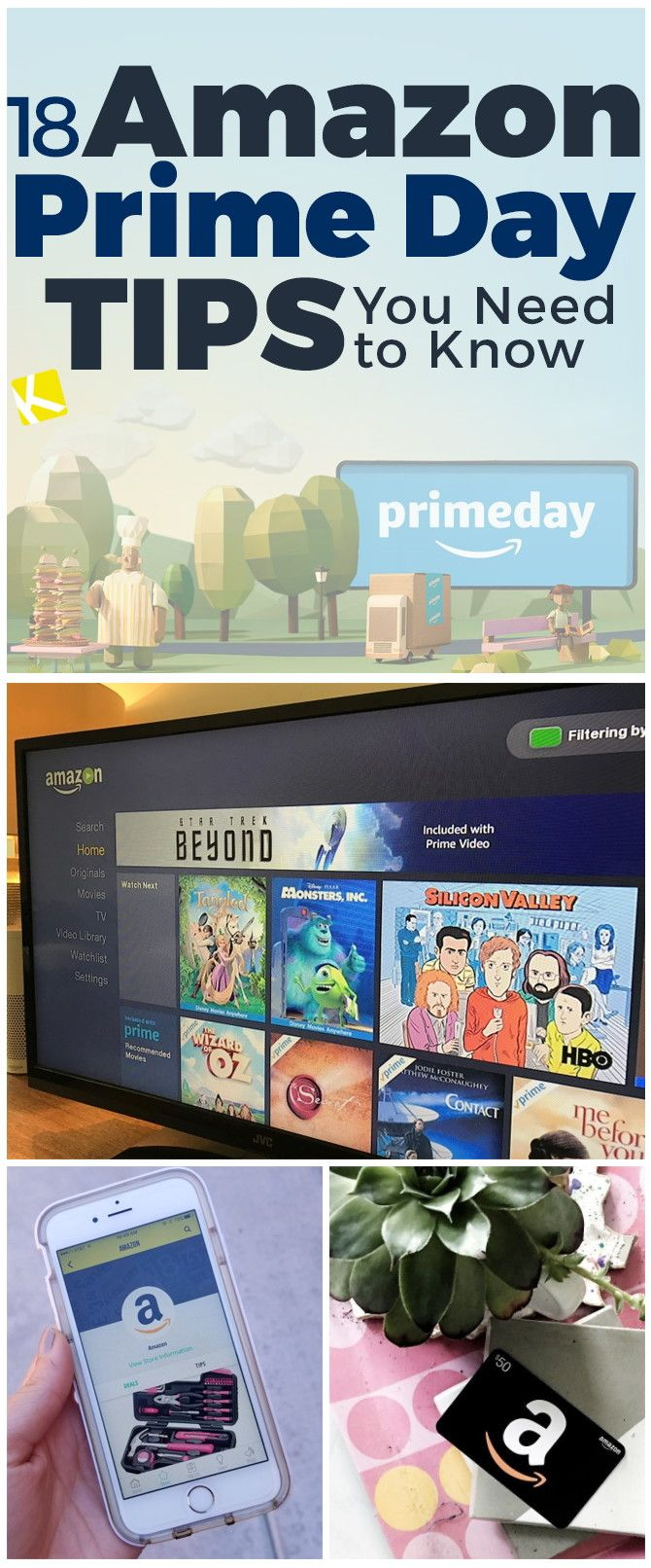 Are you ready for the big day? Check out these Amazon Prime Day shopping tips.