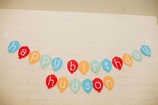 Balloon Themed Birthday Party