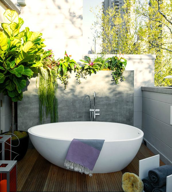 17 Best Ideas About Outdoor Tub On Pinterest