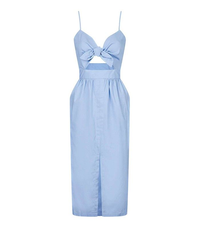 5 Trends That Will Be Massive This Summer, According to an Expert via @WhoWhatWear Topshop Bow Front Sun Dress ($80)