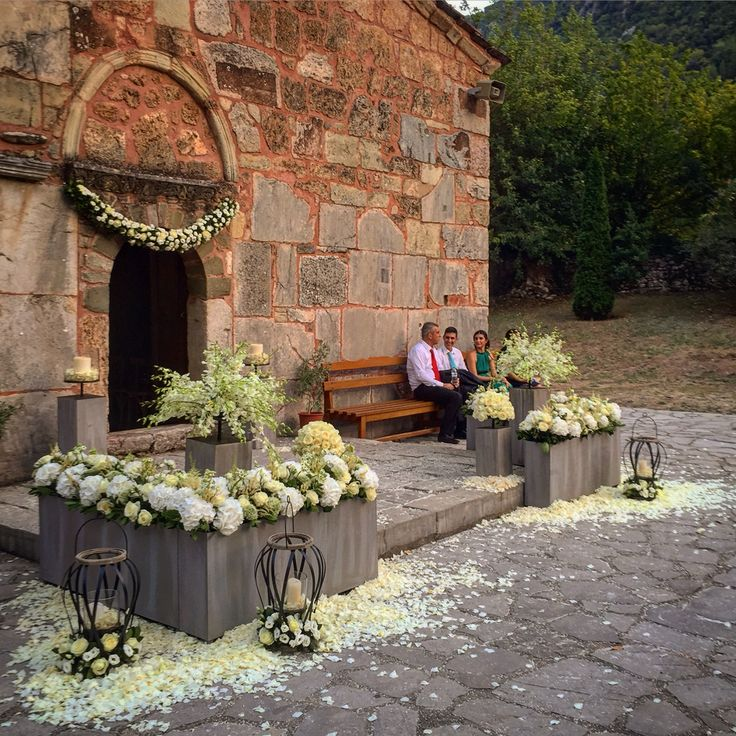 Wedding flowers trikala Greece