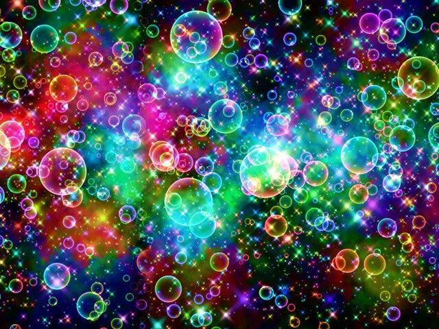 rainbow bubbles colorful -#main