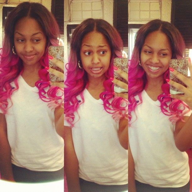 Bahja's hair - beauty-omg-girlz Photo