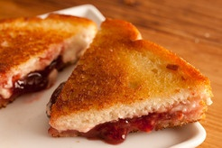 Grilled Jam and Cheese Sandwich | Food & Drink | Pinterest