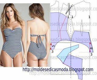 SAIA FÁCIL DE CORTAR E FAZER - 4 | Moldes Moda por Medida | Bloglovin'