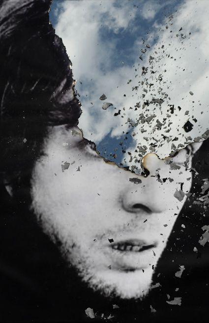 Douglas Gordon  Self Portrait of You and Me (Blue Skies), 2011