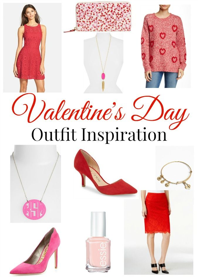 Valentine's Day inspired outfits perfect for the holiday!