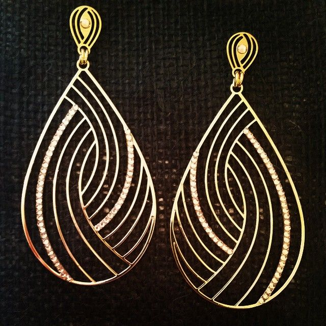 Curved Lines  #Shop #Earrings now on etyandelle.com