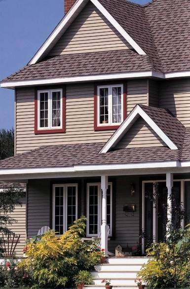 23 Best Images About Exterior Siding Ideas On Pinterest Exterior Colors Red Shutters And