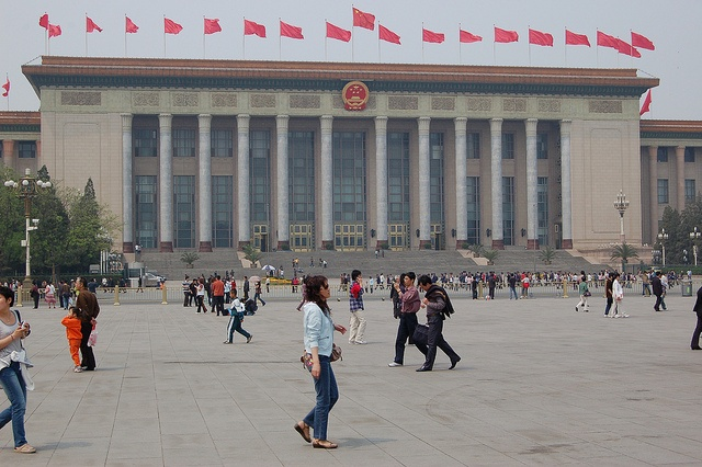 Pekin, Plac Tian'anmen by urloplany.pl, via Flickr