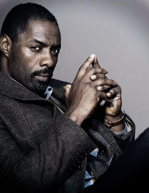 Idris Elba as Detective John Luther. A borderline genius detective with a tough attitude, impossibly sexy looks and antisocial ways, just as I like it! Hmmmmmmm......